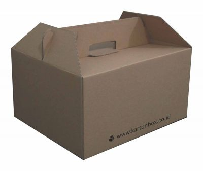 Cardboard Boxes for Souvenirs / Gifts - Brown