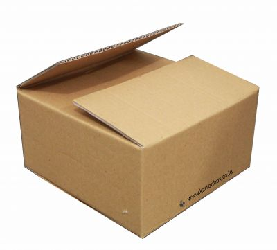 Kardus / Box Double Wall Corrugated - Coklat